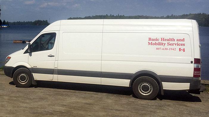 Basic Health and Mobility Van